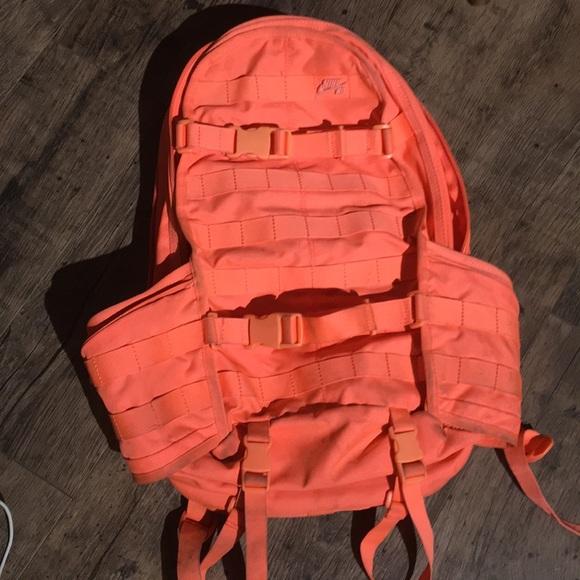 Nike SB RPM backpack neon coral orange. M 5aaf03a3d39ca21773aa53cb e8be8df5f0013